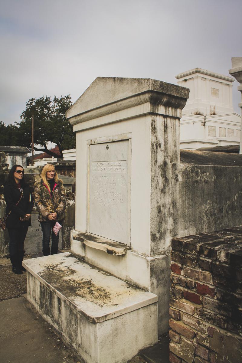 Homer Plessy's grave.