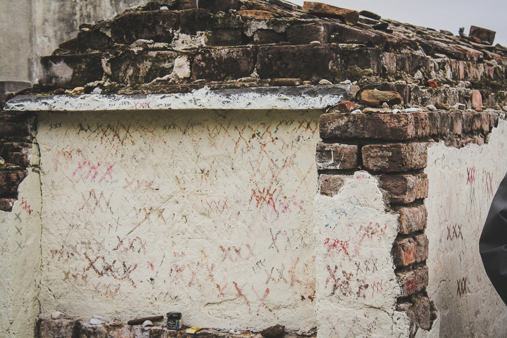 You can see that graffiti is a problem for the cemetery. As of this post, my understanding is that the cemetery is no longer open to the public. It is only available via appointment or via tour.