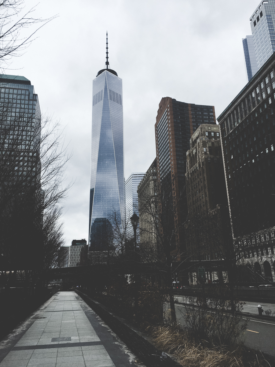 One World Trade Center is beautiful and seems to draw all sight-lines to itself.
