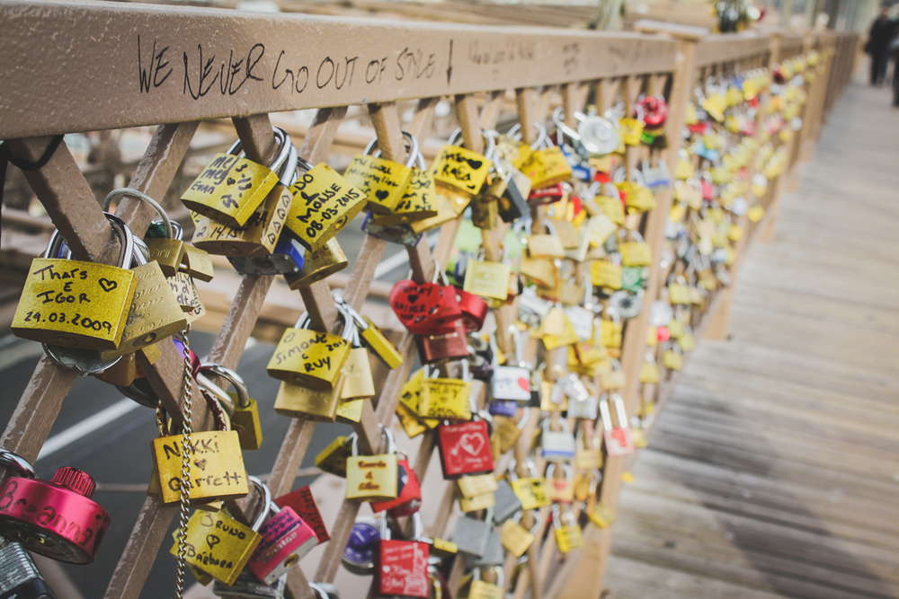 "Recently,  the ""Love Locks"" were cut from the Pont des Arts bridge in Paris  but the trend is continuing everywhere!"