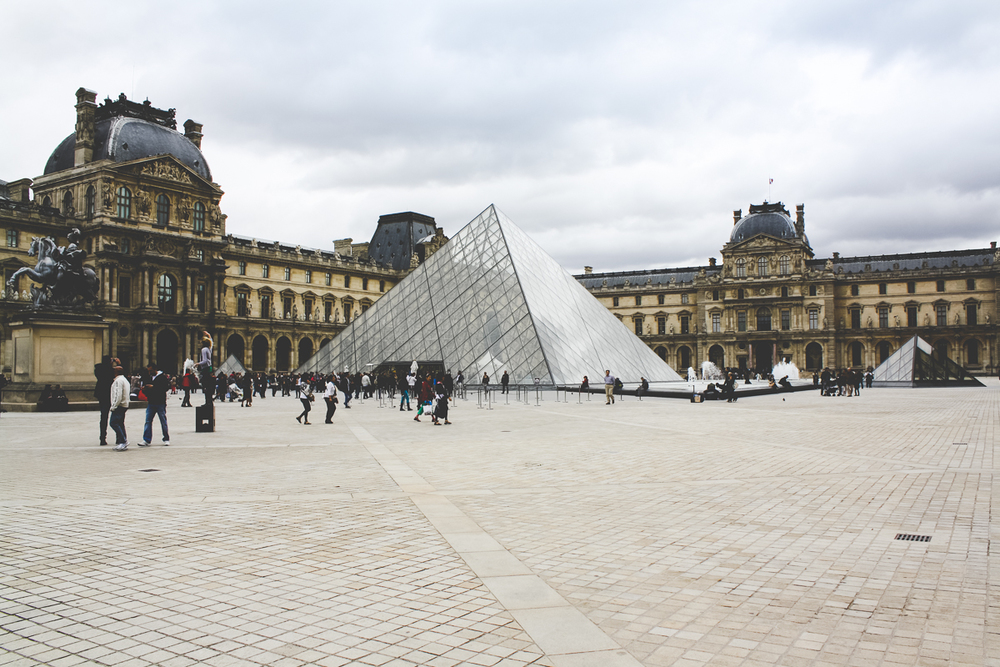 Onwards to the Louvre!