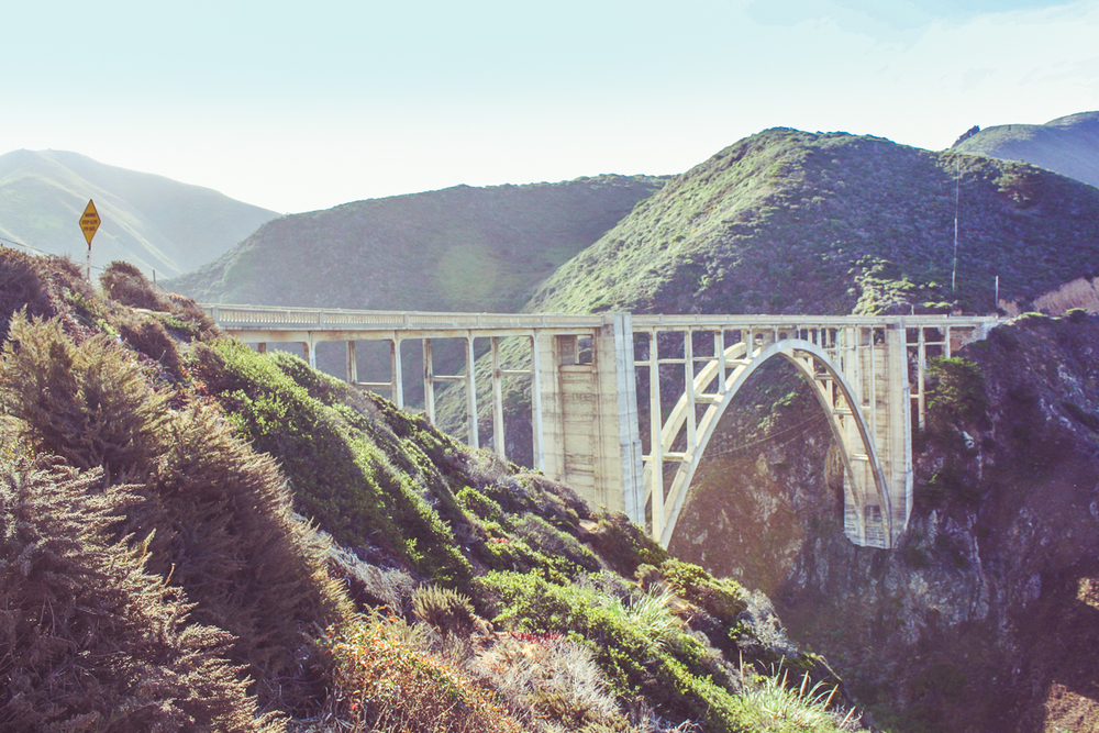 Bixby Bridge! As some point, I'll have to do an afternoon drive to catch it in a better light.