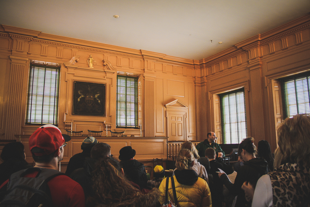 This is the Philadelphia Supreme Court side of Independence Hall, which I'm sure saw some cool things but...