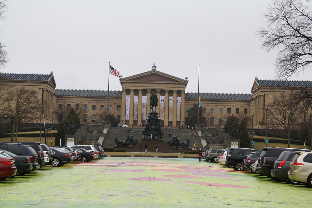 Moving on to the Philadelphia Museum of Art!