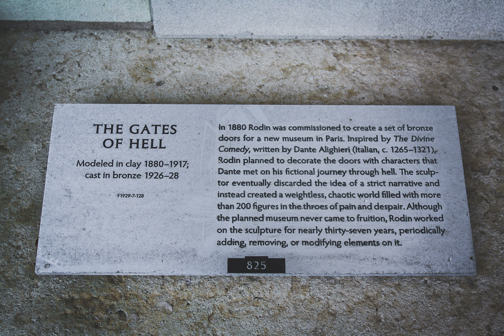 A little info on The Gates of Hell. I'm sure I'll be seeing more of these at some point!
