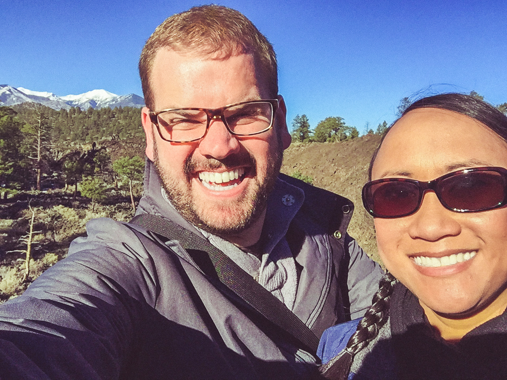 Now onto the Sunset Crater National Monument!