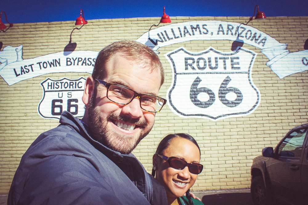 Getting our kicks on Route 66!!!