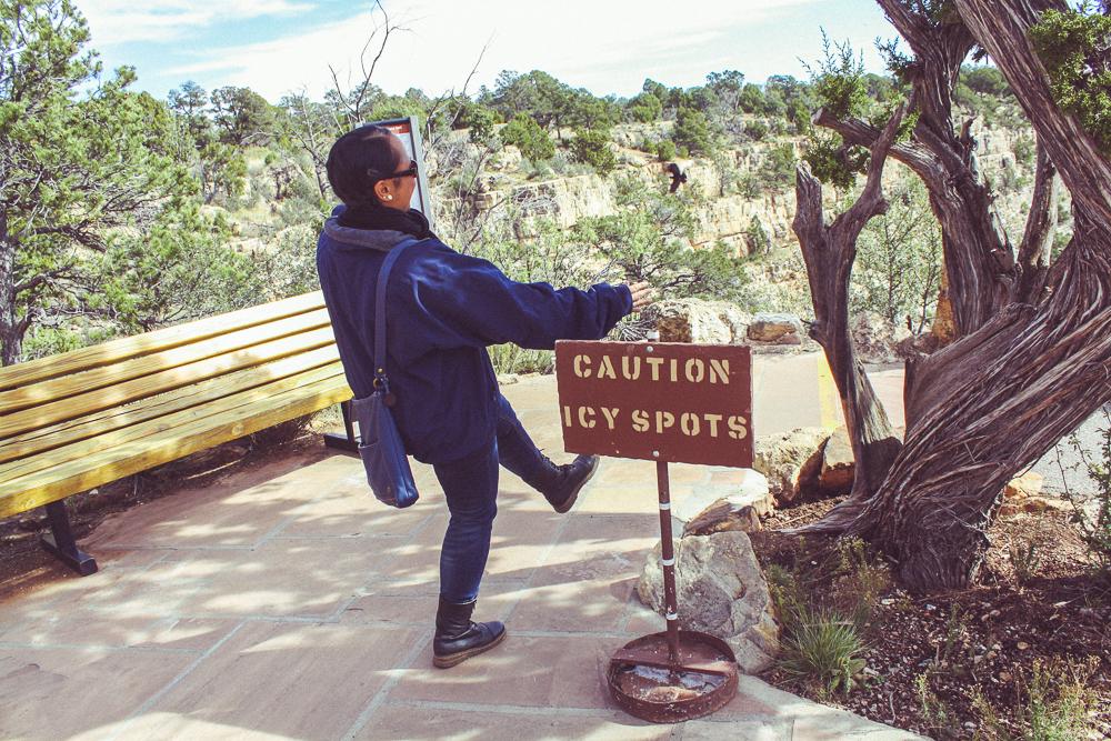 Careful Cindy!