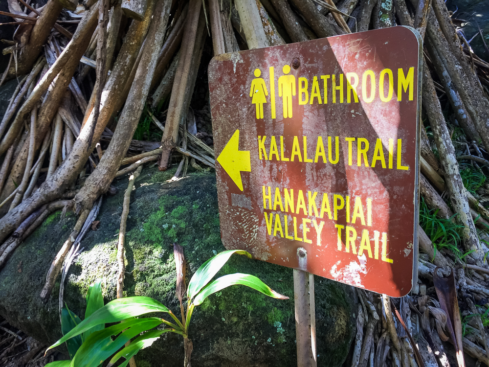 Note to anyone looking to hike this area: do not use that bathroom. Just find a bush or something.