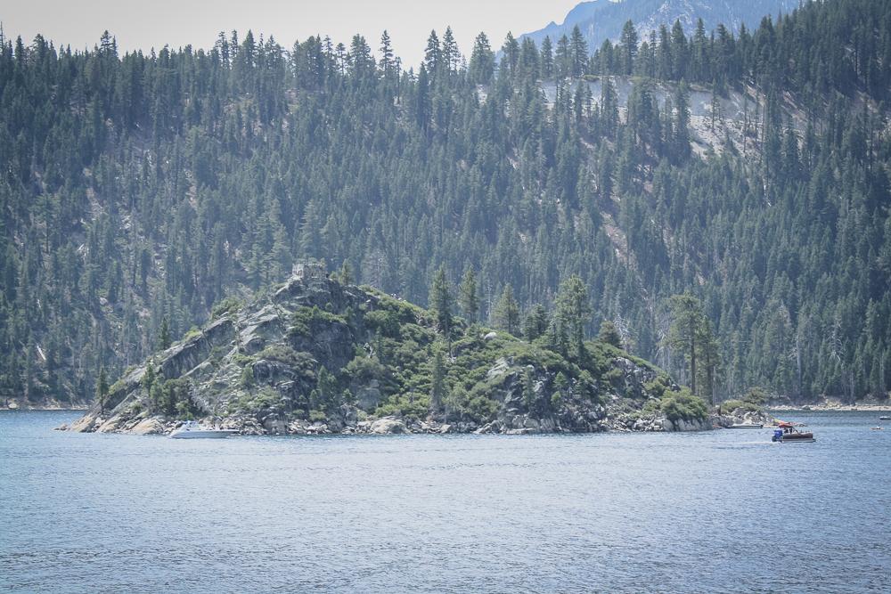 Fannette Island, from lake-level.