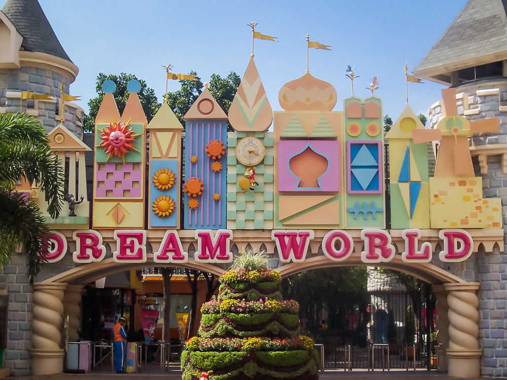 One more shot of Dream World.