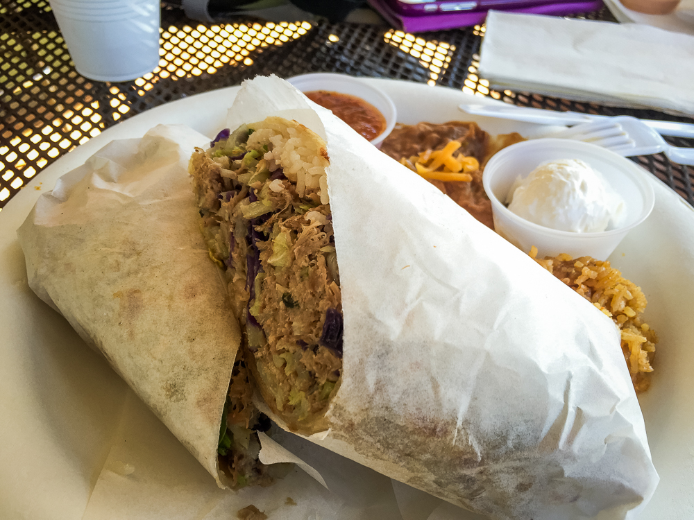 Kalua pork burritos...who knew?!