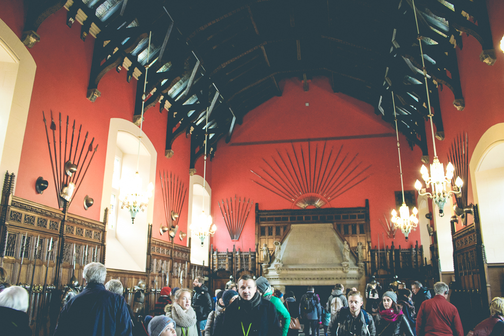 Beyond the chapel was the Great Hall. It was great.