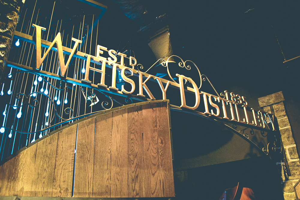 """Take note how the Scottish spell whiskey without the """"e""""."""