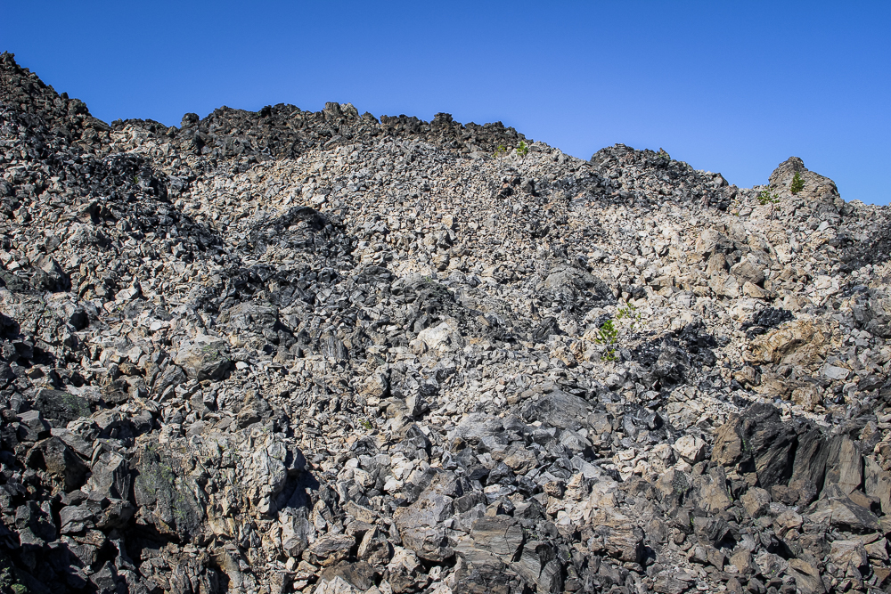 This lava flow was probably the largest I have ever walked on. It was about 50 feet tall.
