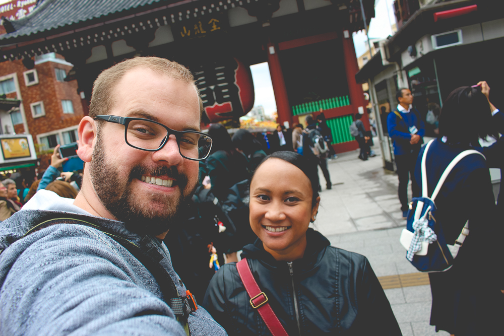 We made it to Asakusa!