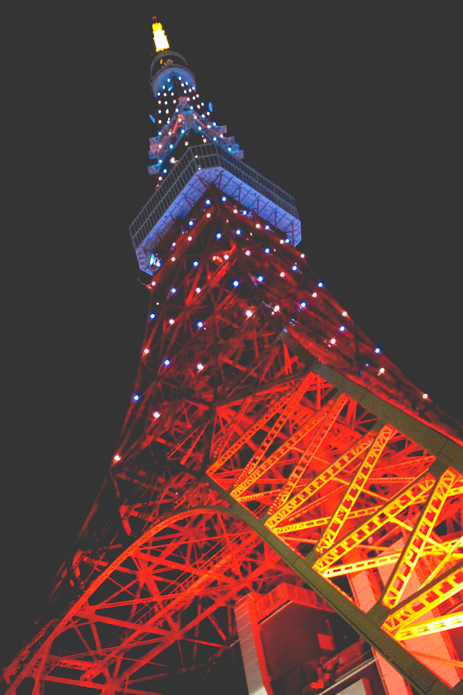 And finally, to Tokyo Tower!