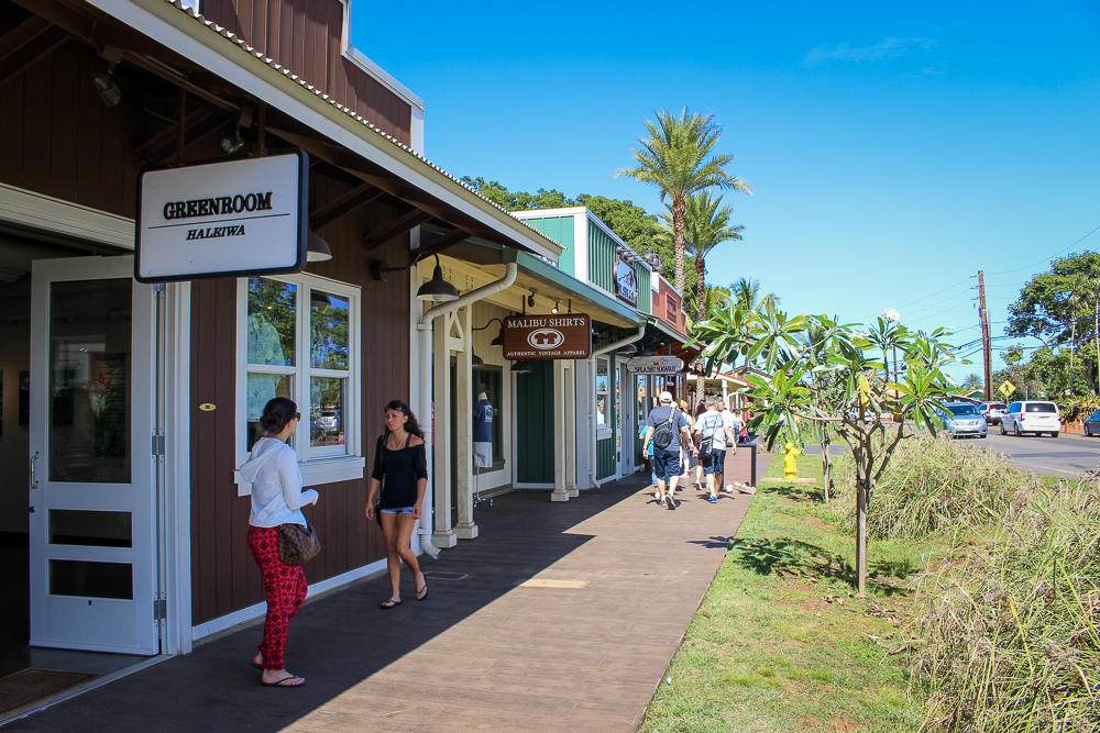 Moving on to Haleiwa!