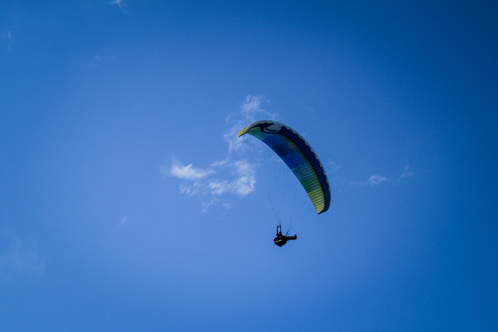 Hello Mr. Paraglider man!