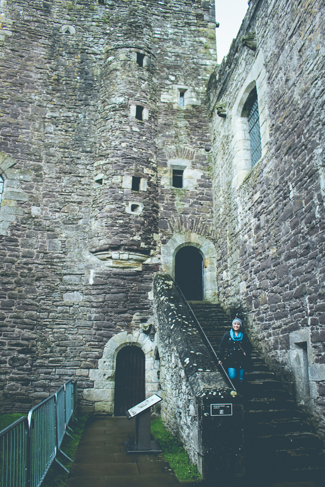 Now inside of Doune Castle.