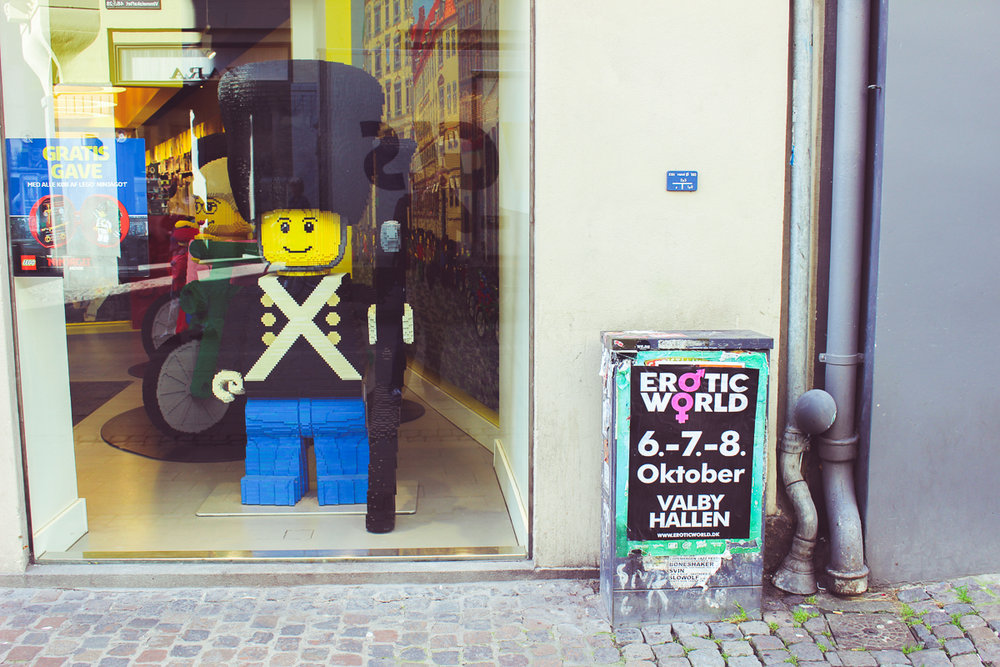 Lego Store and erotica. Copenhagen has something for everyone!