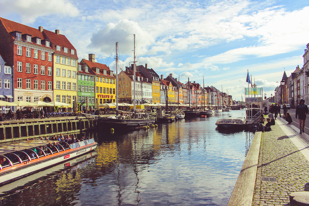 First sights of Nyhavn!