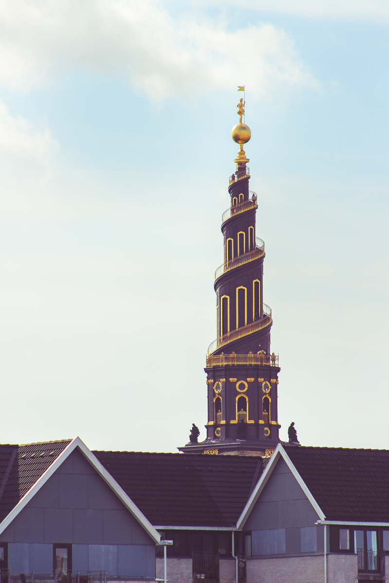 The spiral spire of the Church of Our Savior was visible from all around the city.