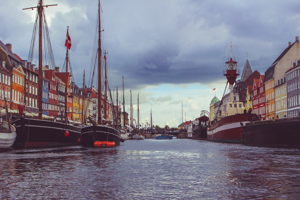 You can see we were returning to a darker, more ominous Nyhavn.