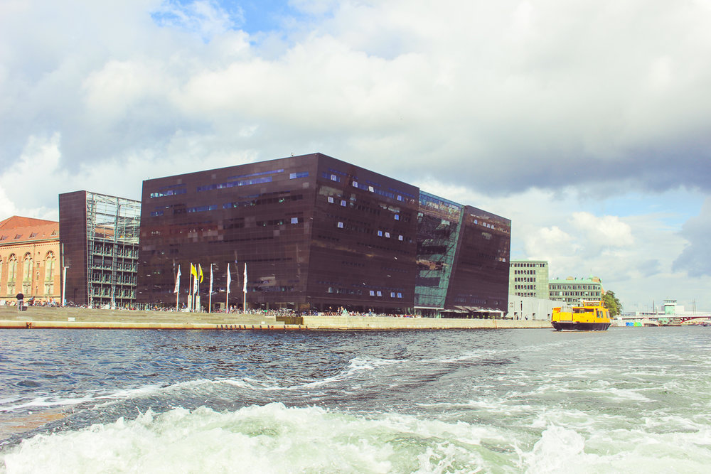 The Black Diamond, an extension of the Royal Danish Library.