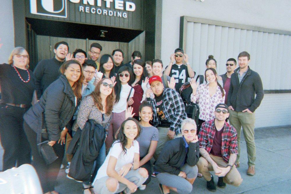 LA TRIP, Touring United Records - March