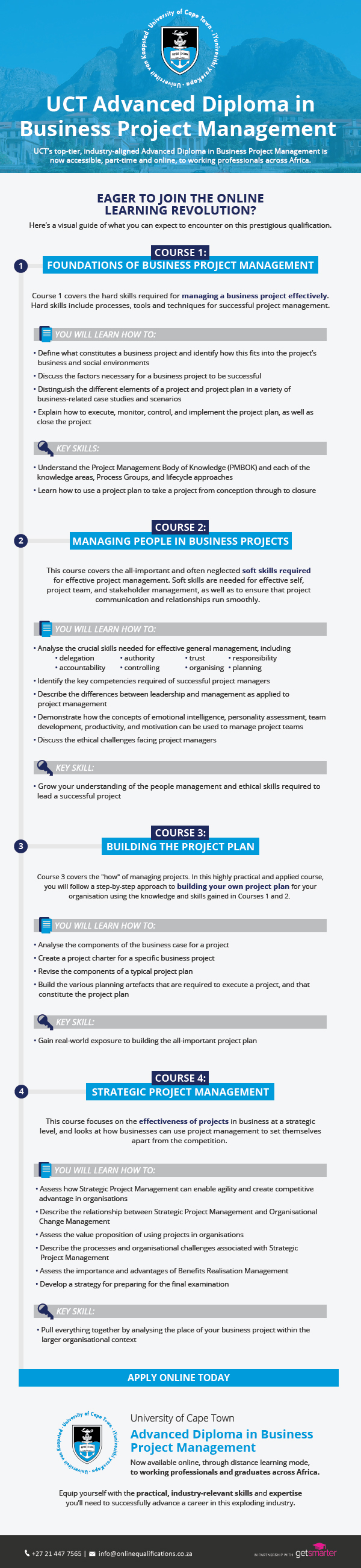 UCT-Postgrad-Business-Project-Management-course-overview