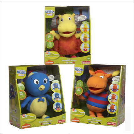 Backyardigans Interactive Toy