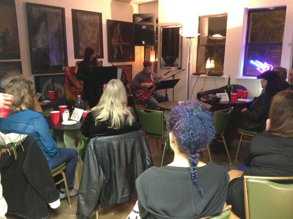 A Saturday night Jazz showcase featuring Justyna Biala and Jon Ross.
