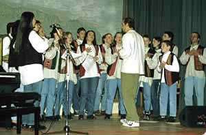 L'organisaziun de conzerc cun cors dla Val Badia é pro i punc sön le program dla Uniun di Ladins.