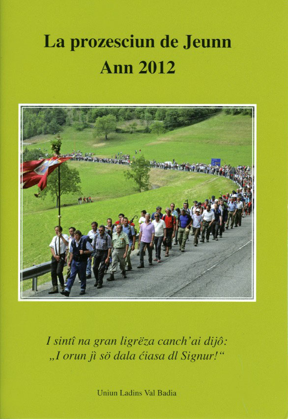 la prozesciun de Jeunn 2012