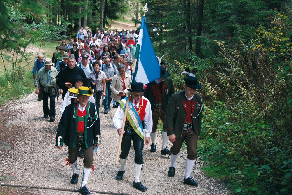 Pelegrinaje a Baissenston en domënia ai 26 de setëmber 2010