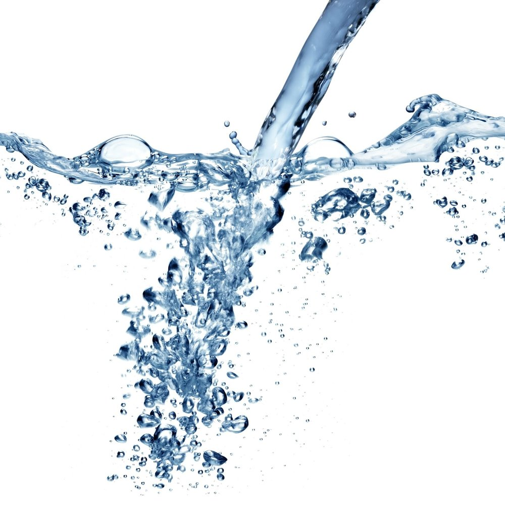flowing water with air bubbles.JPG