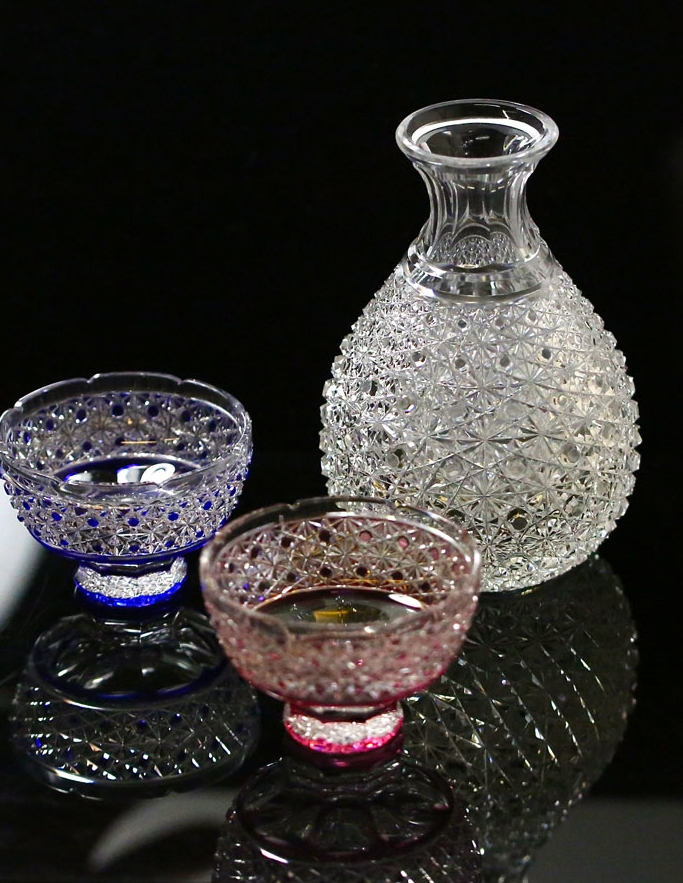 Sake glass