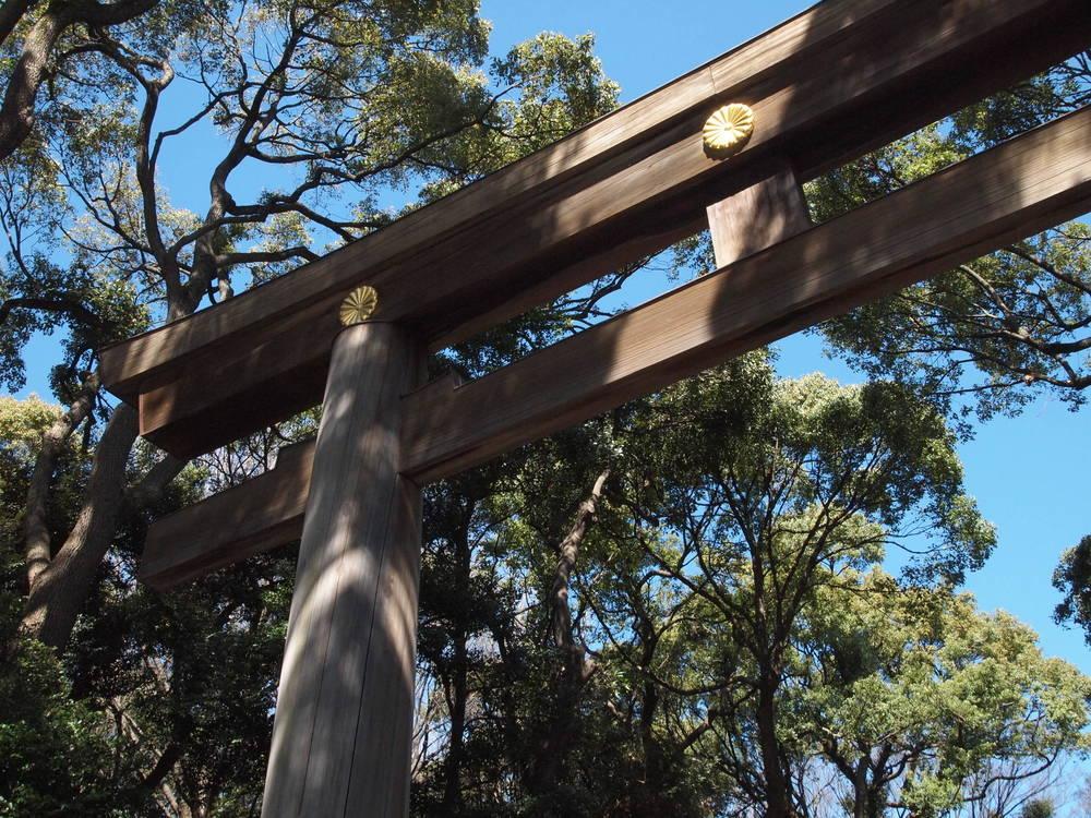 Torī (a gateaway) for shrines. ©TOKI