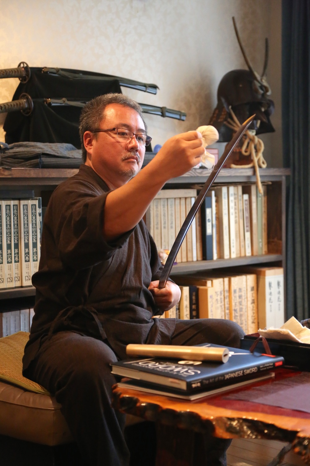 We would like to present you with an invaluable opportunity to see with your own eyes the process of sword making a form of japanese art recognized and