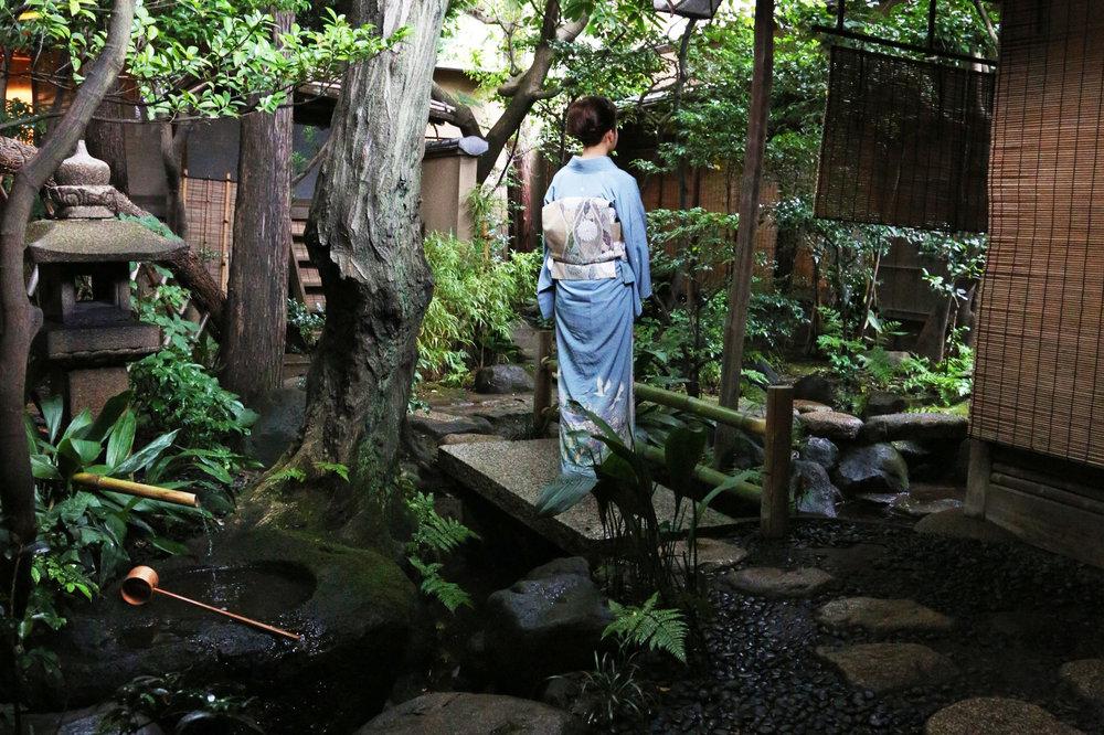 Participants in Japanese tea ceremony today will often wear a kimono. ©TOKI
