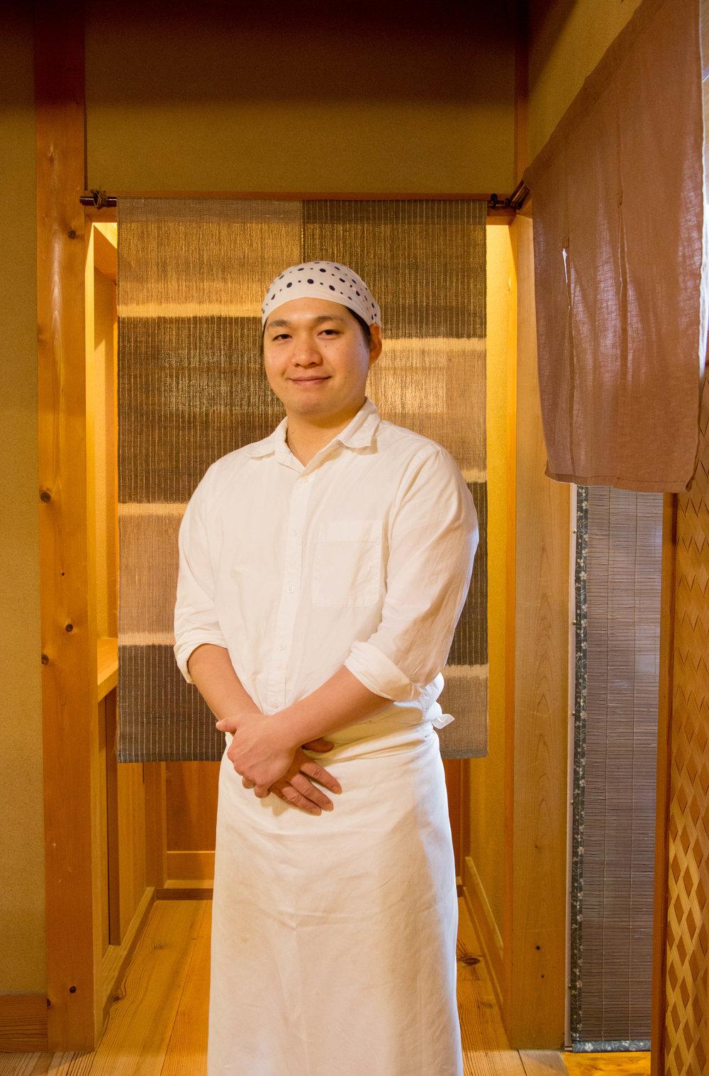 Chef Shinnosuke Matsuda in his element. ©TOKI