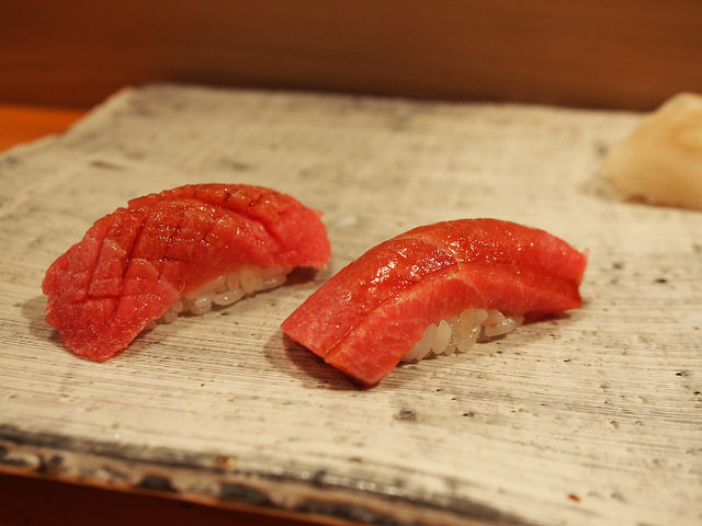 Different cuts of the same fish will present a different flavor profile. ©TOKI