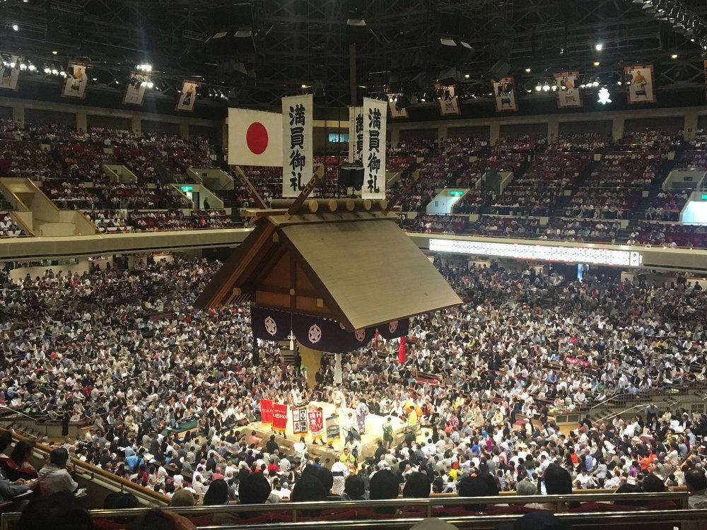 A Honbasho stadium. ©TOKI