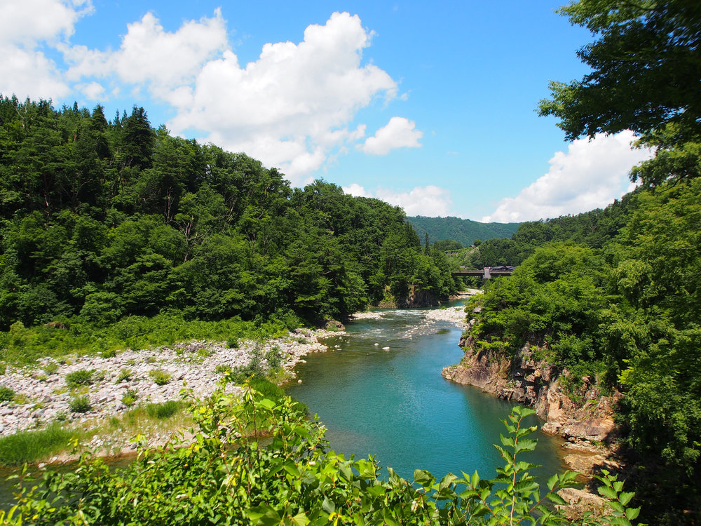 The mountains, the river, the sky, every people in Japan have sought spirituality in every aspect of nature. ©TOKI