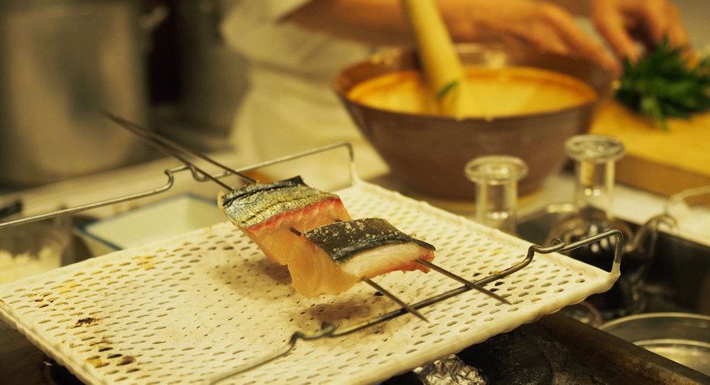 Japanese Kaiseki cooking