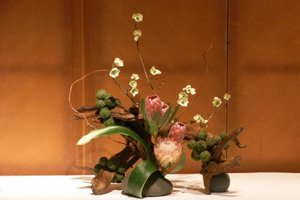 IKEBANA ART OF FLOWER ARRANGEMENT     Step into the world of Ikebana, and discover the essence of Japanese aesthetics while engaging your creative output.