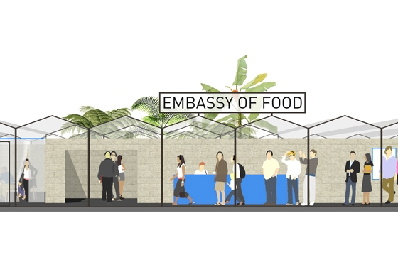 Paviljoen Dutch Design Week | Embassy of Food