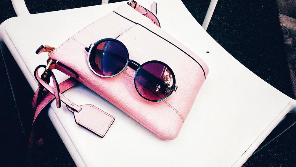 Ralph Lauren pink handbag from El Corte Ingles.