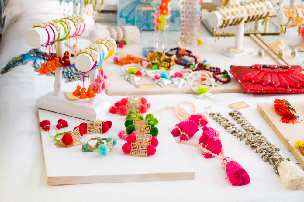 Like mocktails, mock jewelry is still part of the cleanse.